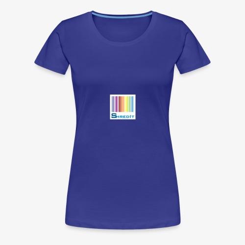 Shred It - Premium T-skjorte for kvinner