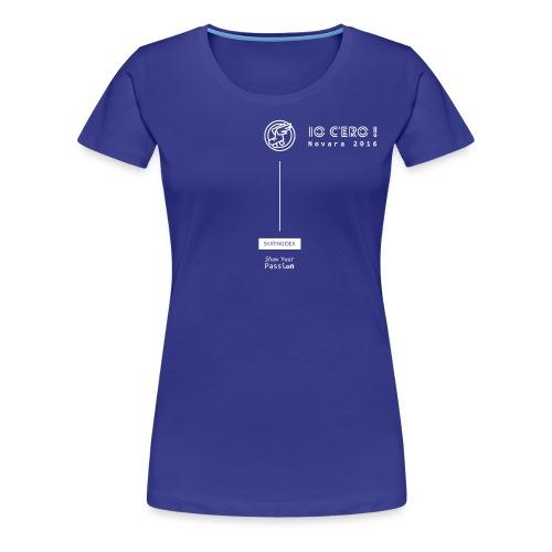 novara2016 - Maglietta Premium da donna