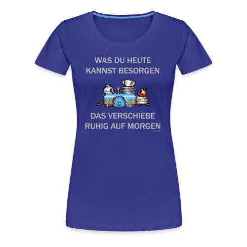 Abwasch - Frauen Premium T-Shirt