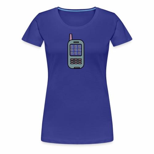 Albert Egelund Mobil Logo - Dame premium T-shirt