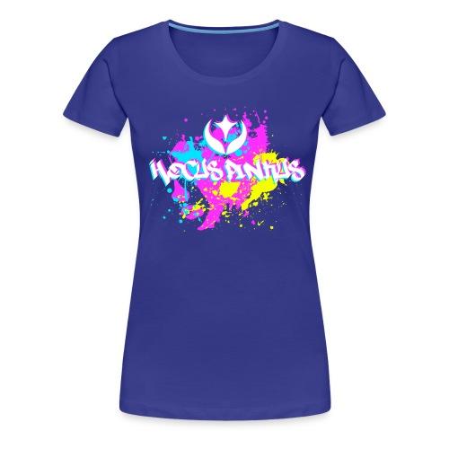 hp 2016 png - Premium T-skjorte for kvinner