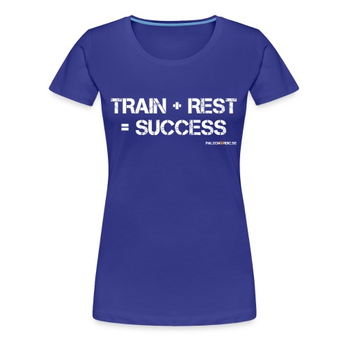 trainrestsuccess - Premium-T-shirt dam
