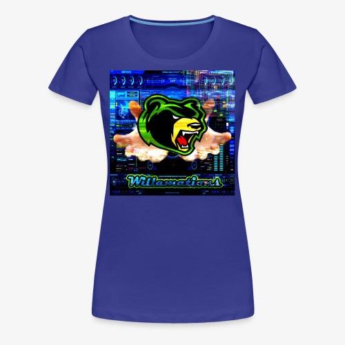 Willamations GeZy logo - Women's Premium T-Shirt