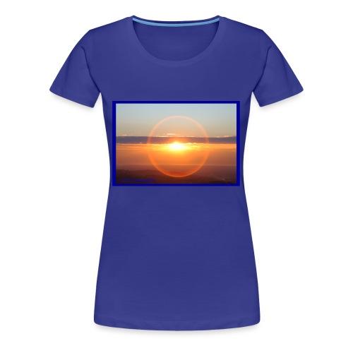 Sunset with optical effect - Maglietta Premium da donna