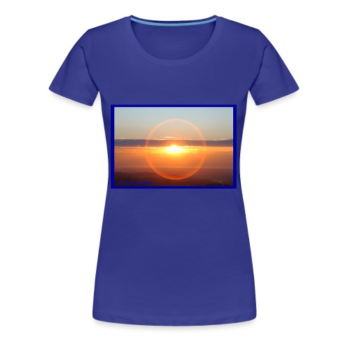 Sunset with optical effect - Maglietta Premium da donna
