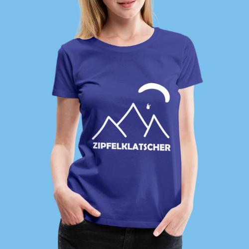 gleitschirmflieger paragliding geschenk T-shirt - Frauen Premium T-Shirt