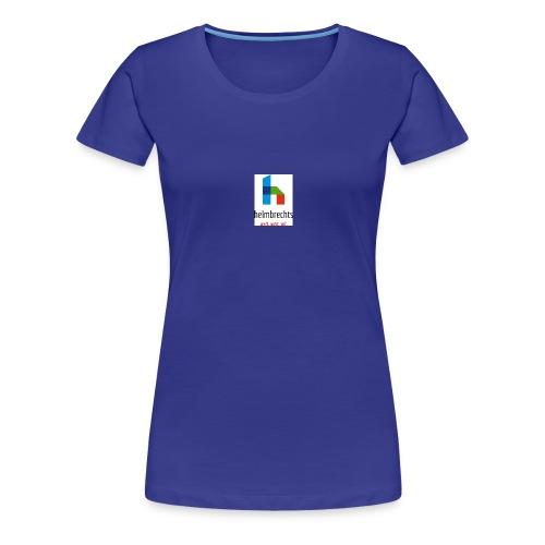 logo_helmbrechts_CMYK_gif - Frauen Premium T-Shirt