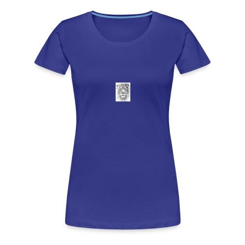 lion sketched png - Women's Premium T-Shirt