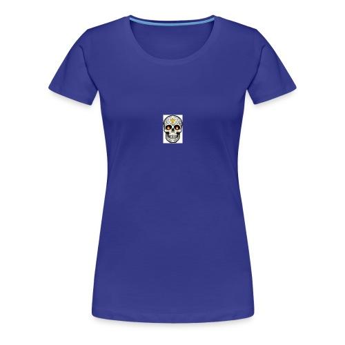 tete de mort - T-shirt Premium Femme
