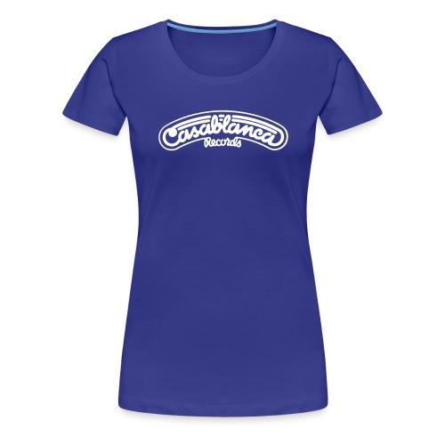 Casablanca White - Premium-T-shirt dam