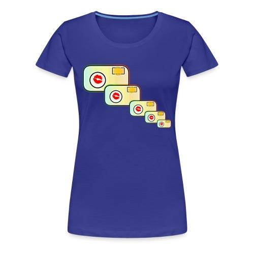 Multi-Camera - Women's Premium T-Shirt
