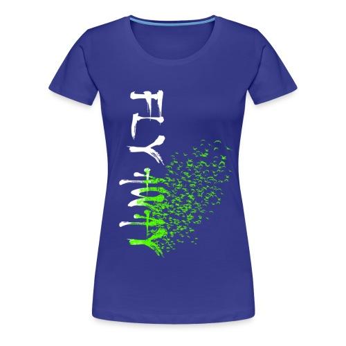 flyaway2 - Frauen Premium T-Shirt