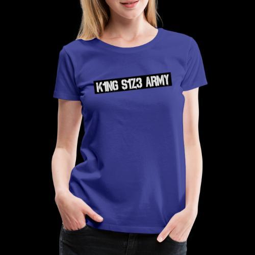 ksa logo schwarz - Frauen Premium T-Shirt