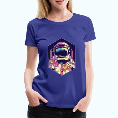 Fast food astronaut - Women's Premium T-Shirt