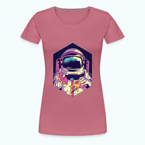 Fast food astronaut - Women's Premium T-Shirt