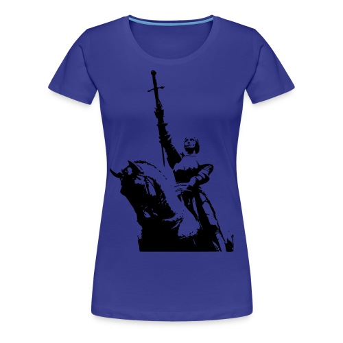 Jehanne d'Arc - T-shirt Premium Femme
