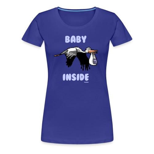 Babyinside - Boy - Frauen Premium T-Shirt