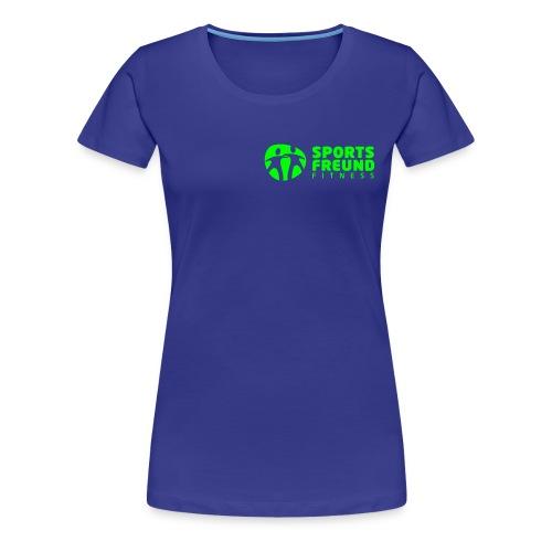 Sportsfreund Fitness_white - Frauen Premium T-Shirt