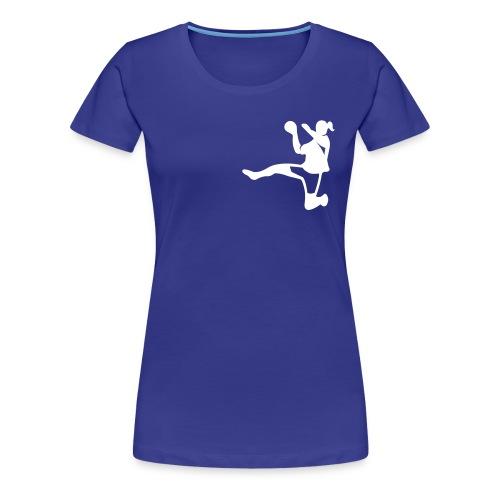 Handballerin - Frauen Premium T-Shirt
