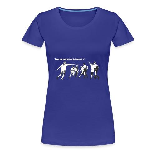 Here s Strachan Again - Women's Premium T-Shirt