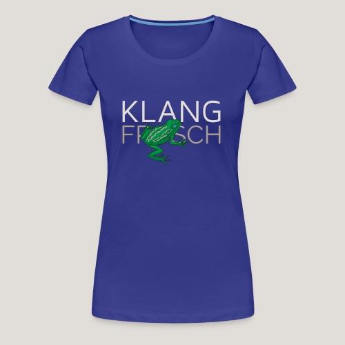Klangfrosch - Frauen Premium T-Shirt