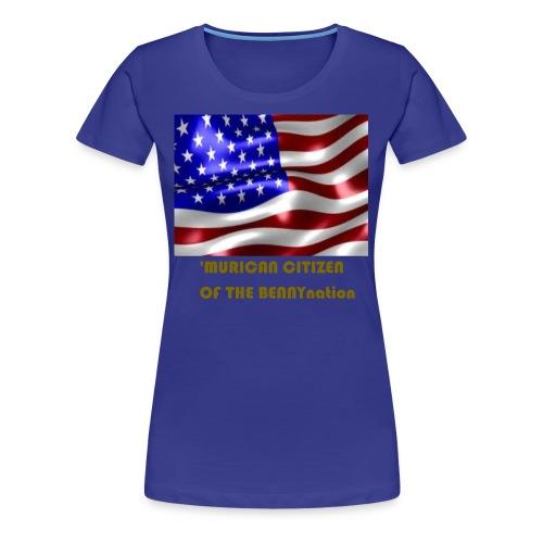 AMERICAN BENNYBOY90 MERCH - Women's Premium T-Shirt