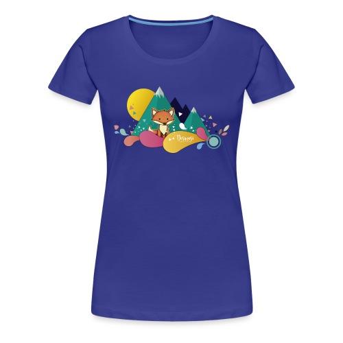 Ilustración Zorrito - Camiseta premium mujer