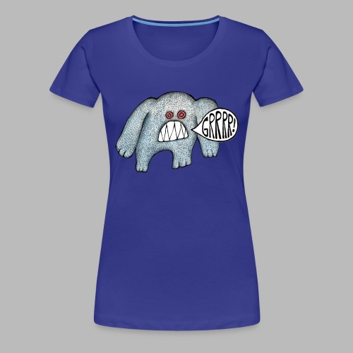 with added GRRRR - Women's Premium T-Shirt