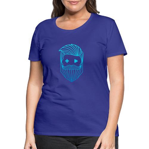 RobyTec Logo B1 Icon - Frauen Premium T-Shirt