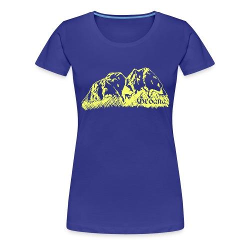 gelbb png - Frauen Premium T-Shirt