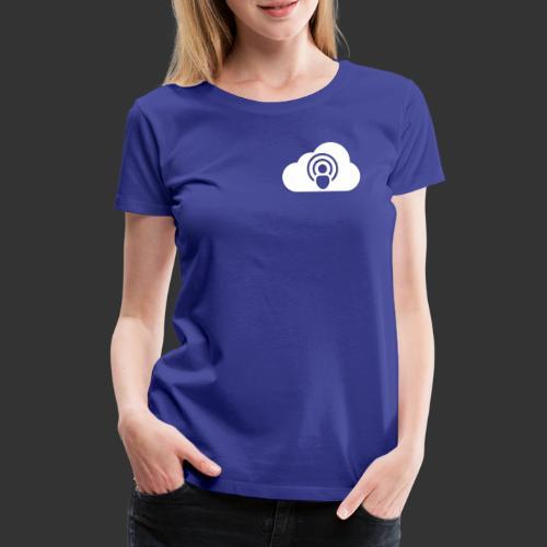 Logo podCloud vecto - T-shirt Premium Femme