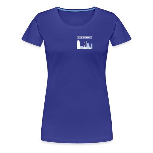 dhf-logo-wort-bild-weiss - Frauen Premium T-Shirt