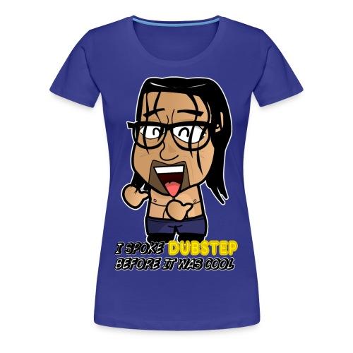 Chibi Khali - Hipster Dubstep - Women's Premium T-Shirt