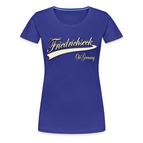 friedrichseck2 weiss - Frauen Premium T-Shirt