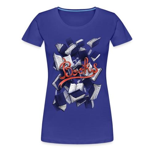 Books - Women's Premium T-Shirt