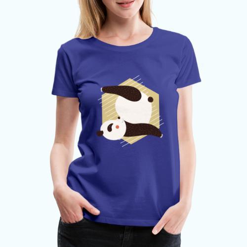 Yoga Panda - Women's Premium T-Shirt