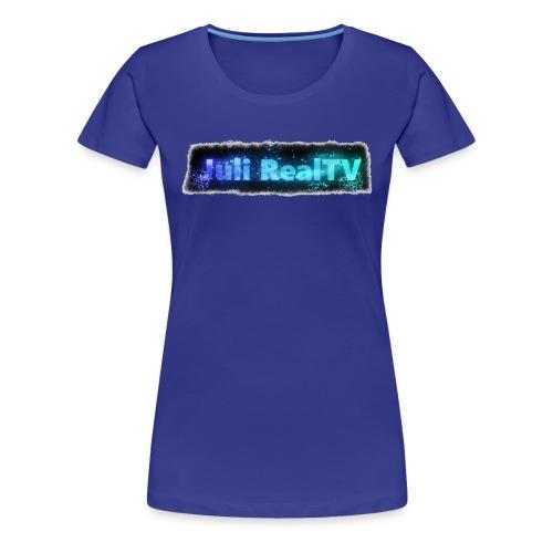 Juli RealTV Logo - Frauen Premium T-Shirt
