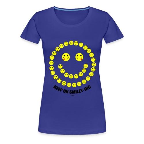 smileys ontwerp 1 - Vrouwen Premium T-shirt