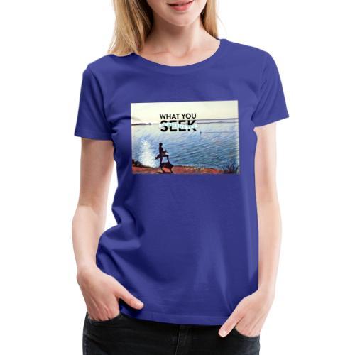 Beachgirl - wild and free - Frauen Premium T-Shirt
