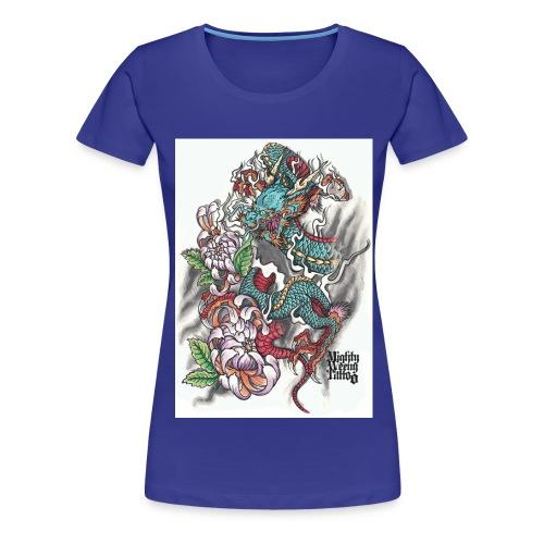 The Dragon - Frauen Premium T-Shirt