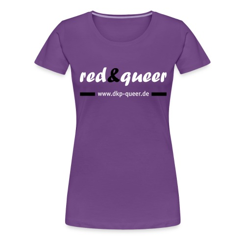 rednqueer logo www - Frauen Premium T-Shirt