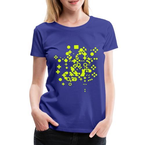 Games Console Controller Collage Coffee Mug - Women's Premium T-Shirt