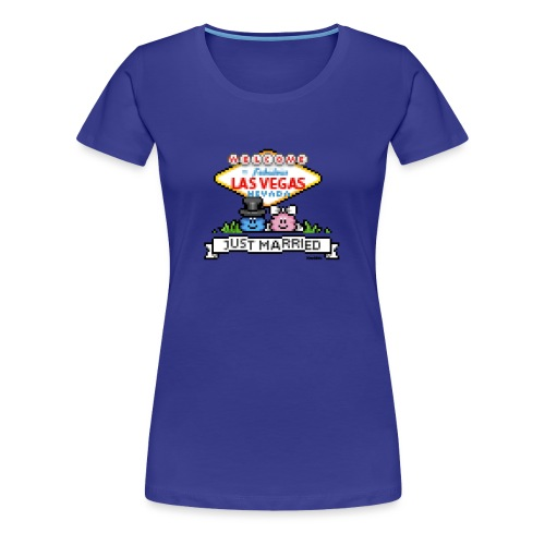 Just Married - Frauen Premium T-Shirt