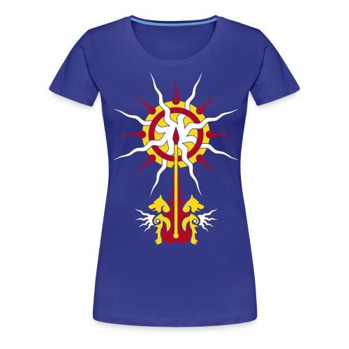 Belenos Sonnen-Ornament - Frauen Premium T-Shirt