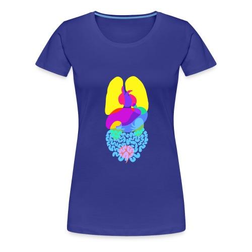 Die Anatomie des Menschen - Frauen Premium T-Shirt