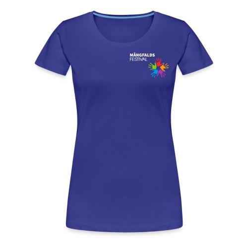 Mångfaldsfestival - Premium-T-shirt dam