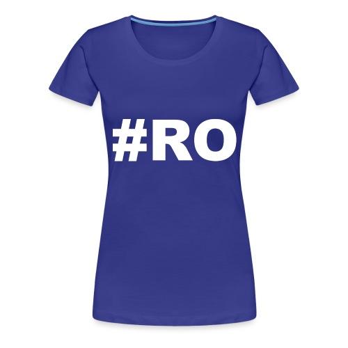 ro - Naisten premium t-paita