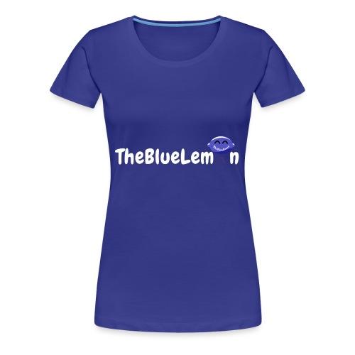 TheBlueLemon writing - Maglietta Premium da donna