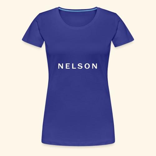N E L S O N - Hoodie - Dame premium T-shirt