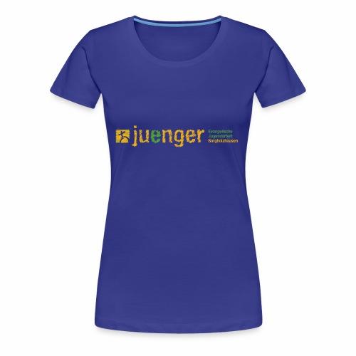 logo ev jugendarbeit borg - Frauen Premium T-Shirt